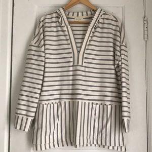 Tops - Multi-stripe hoodie